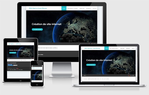 Webseite responsive design